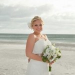Succulent Inspired Beach Wedding from Carrie Wildes Photography