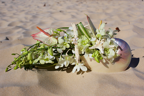 Casual Beach Wedding Bouquet
