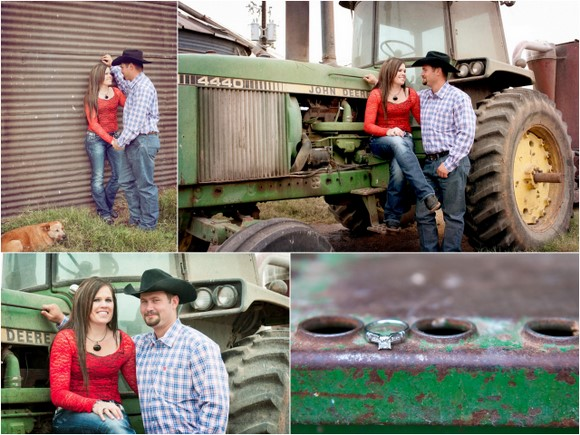 Cattle Ranch Engagement Session