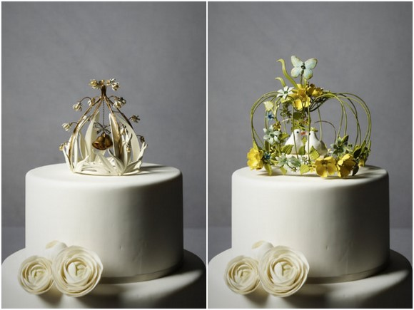 Cute Whimsical Cake Toppers