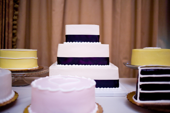 diy wedding cake buffet DIY Texas Wedding by Kimberly Chau Photography