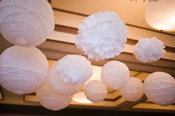 diy wedding ceiling decorations DIY Texas Wedding by Kimberly Chau Photography