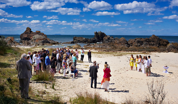 Forster Beach Australia Wedding