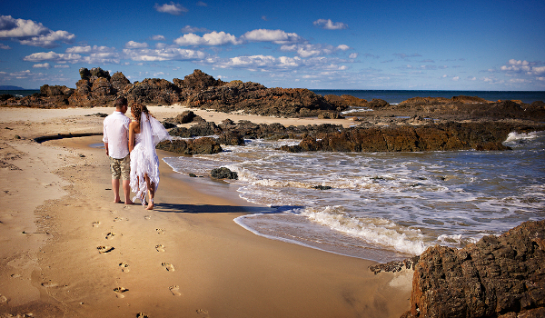Forster NSW Beach Wedding
