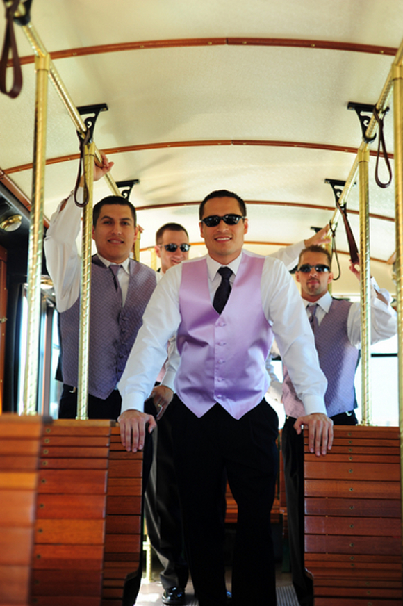 Pink Groomsmen Outfit Ideas