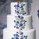 {Cake Inspiration} Groovy Retro Wedding Cake