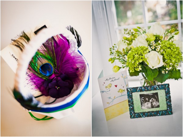 Vintage Peacock Wedding
