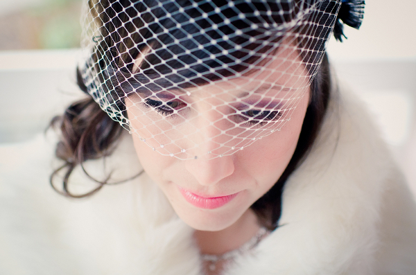 Winter Vintage Bride