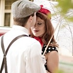 1950s Inspired E Session by Gambol Photography