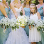 {Bouquet Inspiration} Baby's Breath Bridesmaid Bouquets