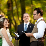 Backyard Vintage Garden Wedding Ceremony