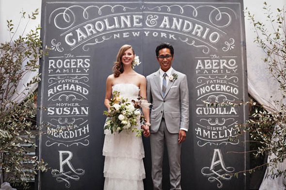 chalkboard photo backrop Gorgeous Photo Booth Ideas For Your Wedding Reception