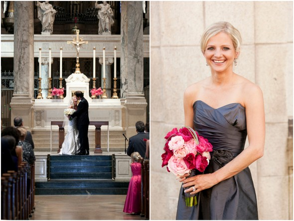 Classic Pink & Gray Wedding