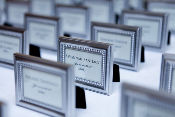 Classic Wedding Silver Photo Frames Favors | Love Wed Bliss