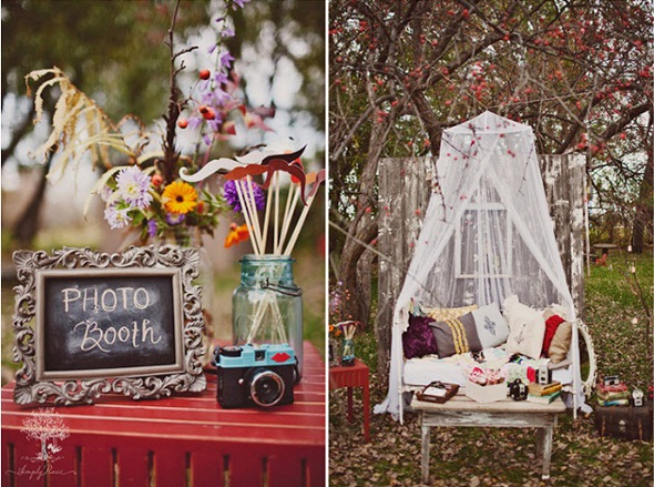 day bed photo booth Gorgeous Photo Booth Ideas For Your Wedding Reception