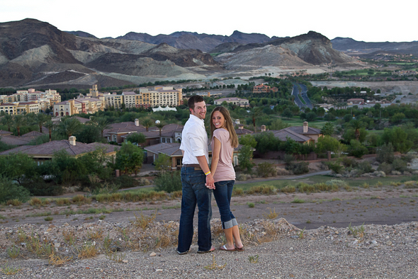 Engagement Session Lake Las Vegas