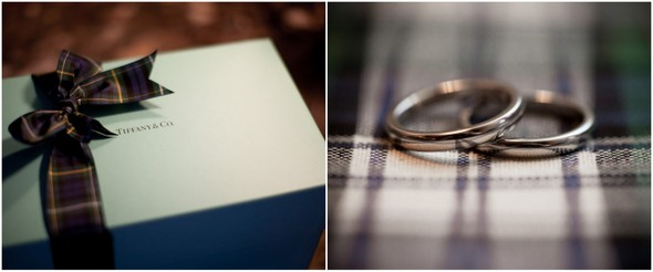 Green & Blue Plaid Wedding Details