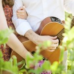 Guitar Styled Engagement Shoot