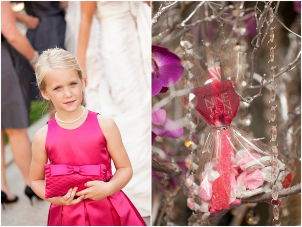 Hot Pink & Gray Wedding Ideas