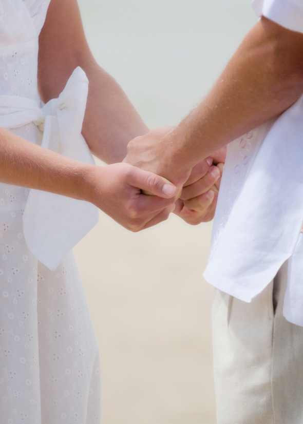 Laid Back Beach Wedding Vows