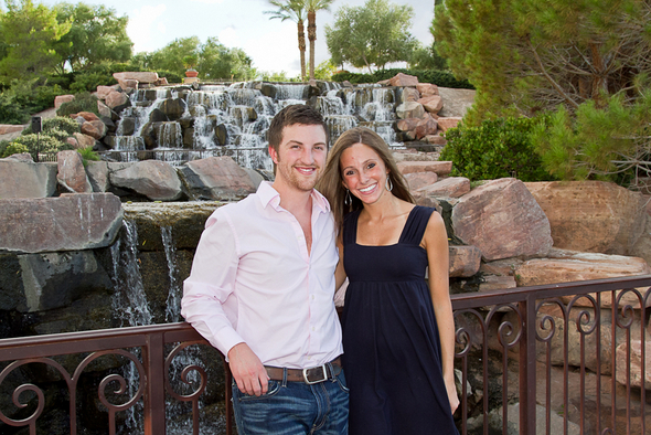 Lake Las Vegas Engagement Photography