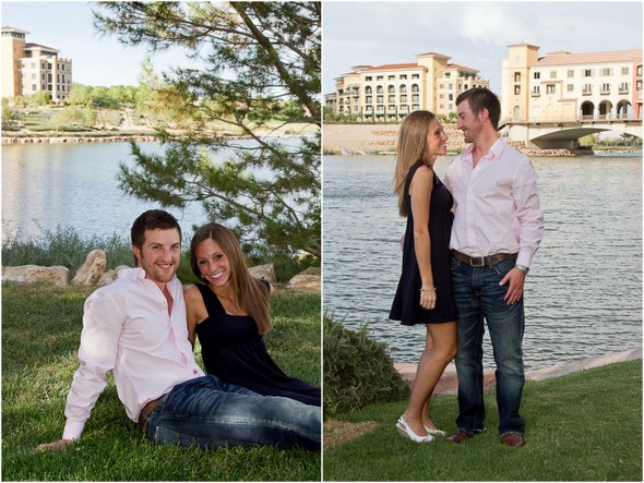 Lake Las Vegas Engagement Shoot