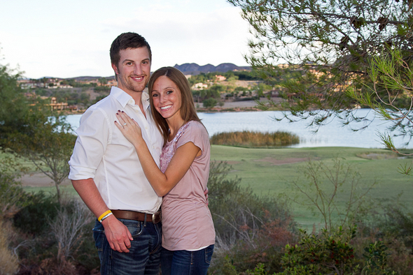 Lake Las Vegas Engagement