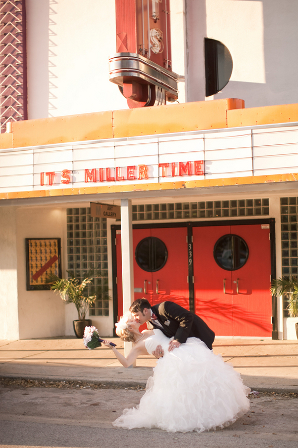 movie inspired wedding Whimsical Movie Theatre Wedding by Mustard Seed Photography