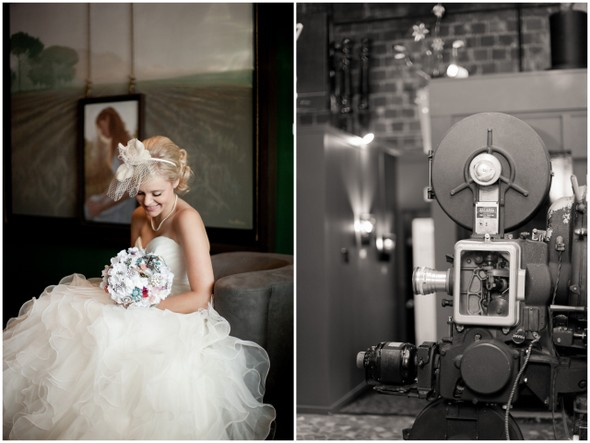 movie theater wedding Whimsical Movie Theatre Wedding by Mustard Seed Photography