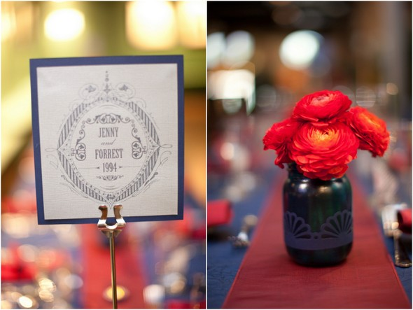 movie themed wedding decorations Whimsical Movie Theatre Wedding by Mustard Seed Photography