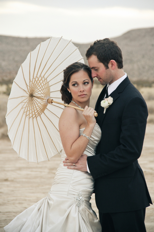 Nevada Desert Wedding Shoot