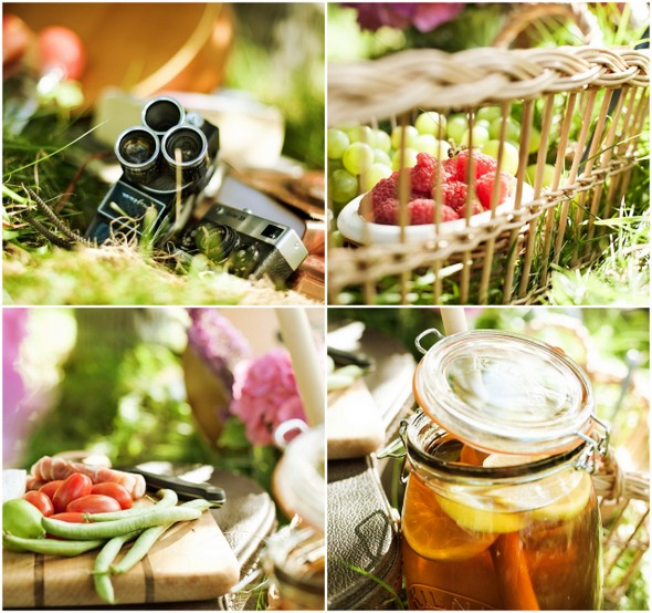 picnic style inspiration shoot Picnic Style Engagement Inspiration Shoot by Kunio Photography