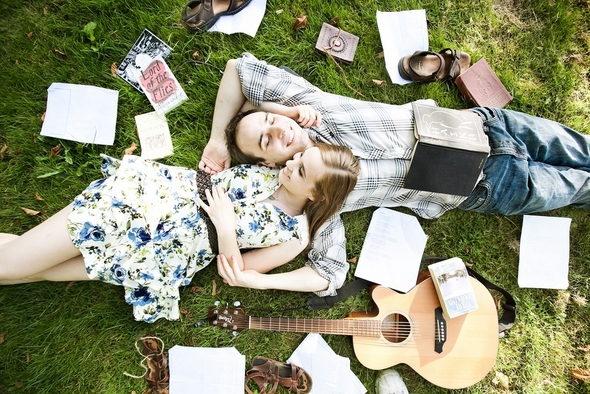 picnic styled love shoot Picnic Style Engagement Inspiration Shoot by Kunio Photography