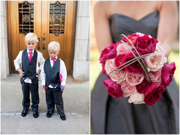 Pink & Gray Wedding Colors