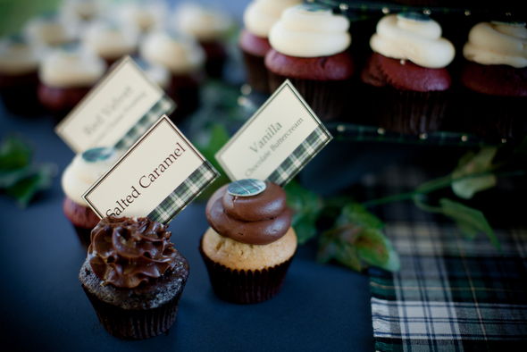 Plaid Wedding Decor