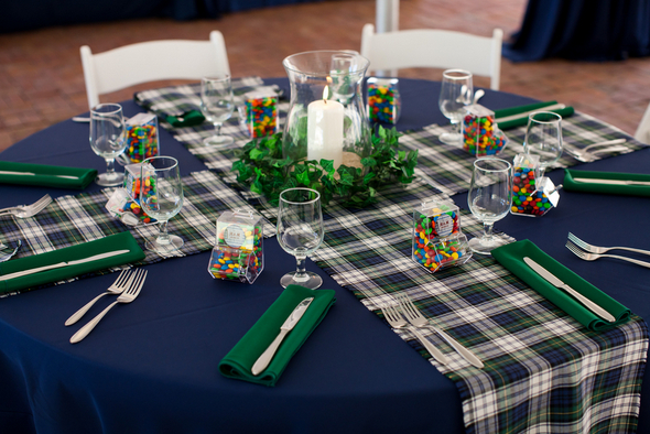 Plaid Wedding Theme