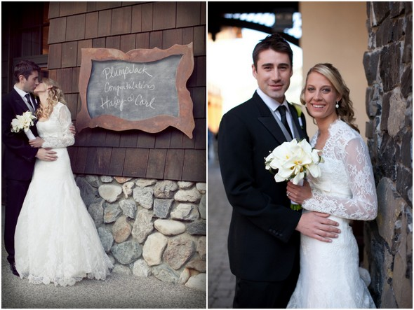 Ski Resort Lake Tahoe Wedding