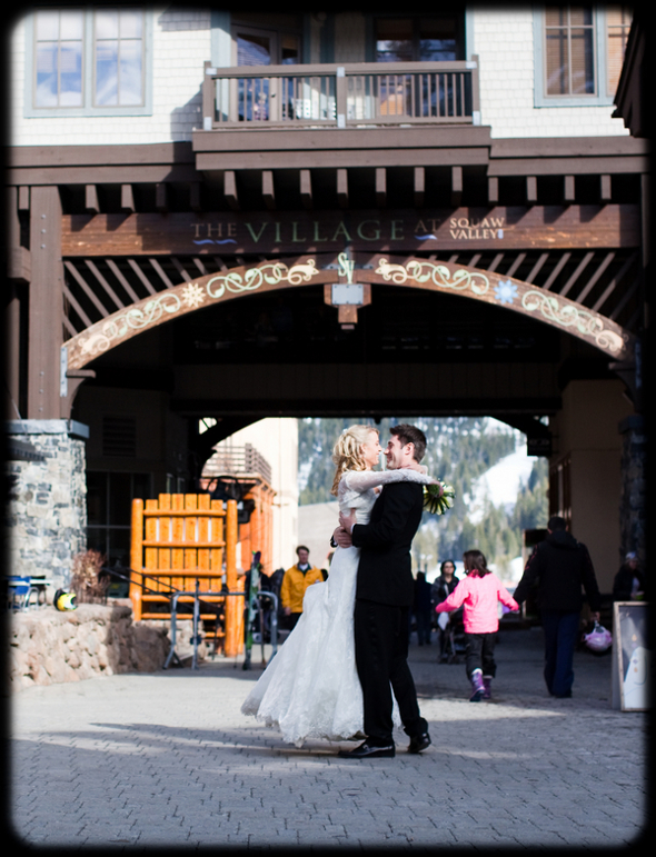 Ski Resort Wedding Lake Tahoe