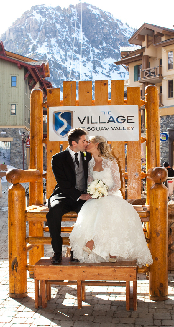 Ski Resort Wedding Squaw Valley