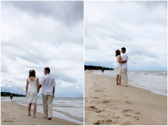 St Joseph Michigan Beach Wedding