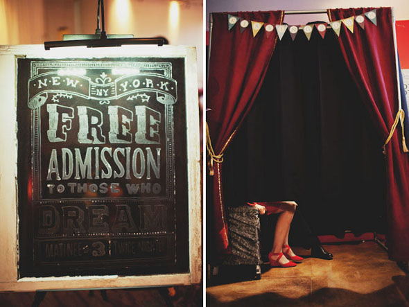 Vintage Carnival Photo Booth