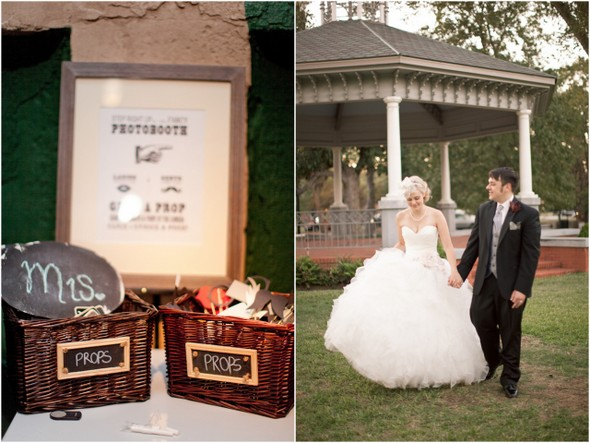 whimsical movie themed wedding Whimsical Movie Theatre Wedding by Mustard Seed Photography