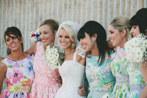 Bridesmaids Vintage Country