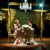 Glamorous Wedding Couples Table