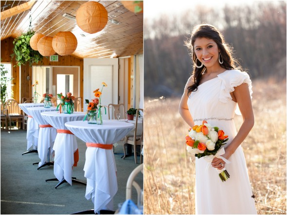 Green & Orange Wedding Inspiration