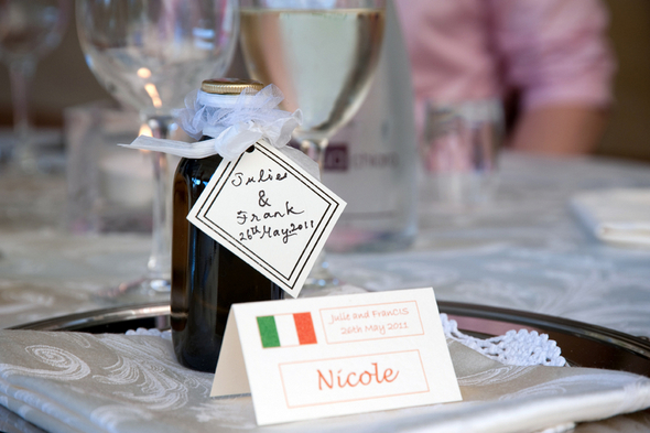 Italian Olive Oil Wedding Favors