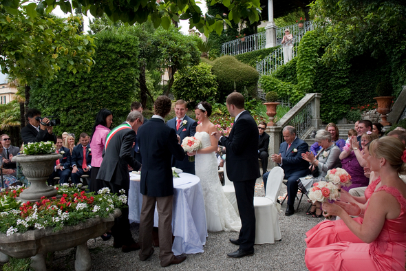 Lake Como Outdoor Wedding