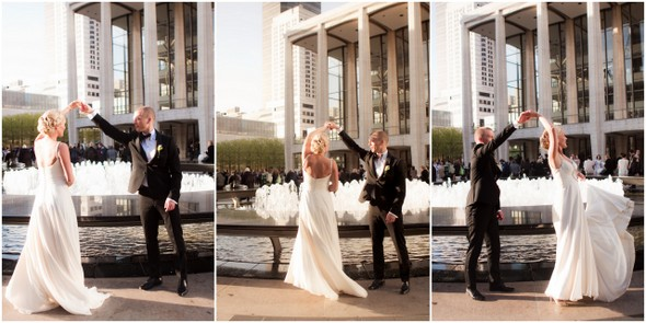 Lincoln Center New York Wedding Pictures