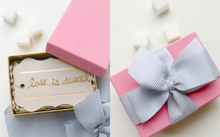 Sweet DIY Wedding Guest Favors