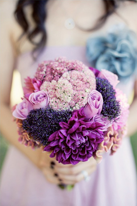 Mixed Purple Bouquet